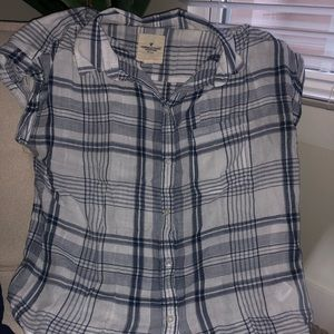 Flannel shirt short sleeved